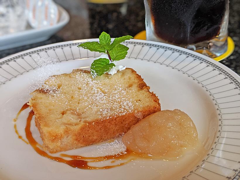 成生梨のパウンドケーキ