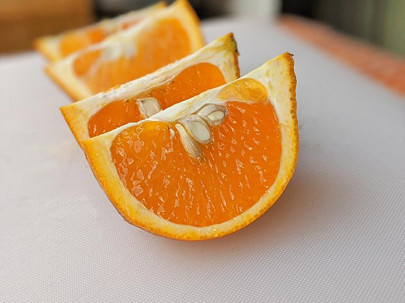 自然栽培清美オレンジのスマイルカット