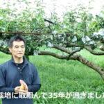 荒尾梨の自然栽培に挑む高塚さんこだわりの土作りとは
